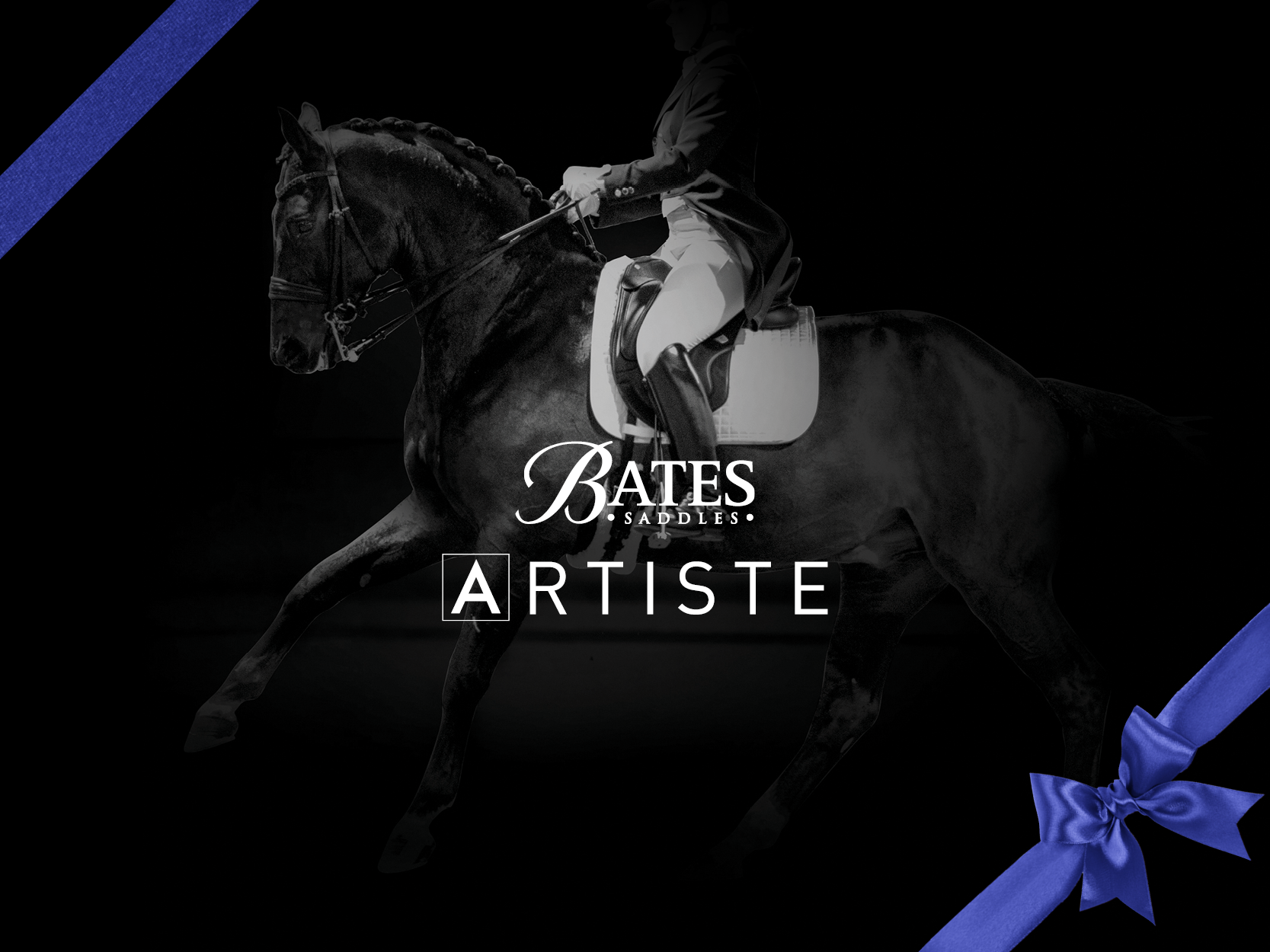 Introducing the NEW Bates Artiste dressage saddle