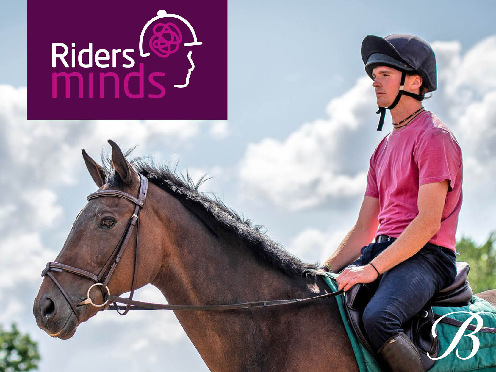 Proudly supporting Riders Minds: Online Mental Health Support