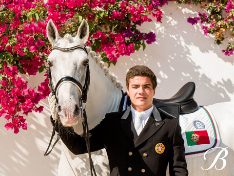 Photo of dressage rider Martim Meneres
