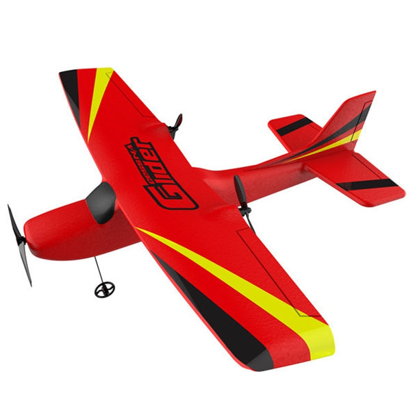 Z50 EPP 2CH Built-in 6-axis Gyroscope Fixed Wing RC Airplane (RED) - Go High Drone