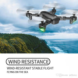 2020 GPS RC Drones Folding Quadcopter with 4K HD Camera 5G WiFi FPV 1080P RC Helicopter With Camera 4 Channel RC Aircraft - Go High Drone