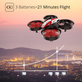 Holy Stone HS210 Mini Drone RC Nano Quadcopter for Kids Beginners RC Helicopter Plane with Auto Hovering, 3D Flip Headless Mode Having Fun Indoor and Outdoor - Go High Drone