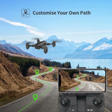 Holy Stone HS350 Foldable FPV Drone with 1080P Camera RC Quadcopter for Kids and Beginners Altitude Hold Function Gesture Photos and Videos - Go High Drone