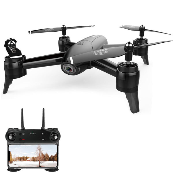 SG106 WiFi FPV With 4K / 1080P Wide Angle Camera Optical Flow Positioning RC Drone Quadcopter RTF - Go High Drone