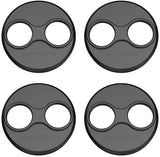 Tineer Aluminum Motor Cover Cap 4 Pieces for DJI Mavic Mini Drone Accessory - Dustproof,Waterproof,Scratchproof Protection Case Cover Mounts (Black) - Go High Drone
