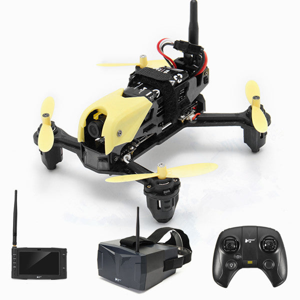Hubsan H122D X4 STORM 5.8G FPV Micro Racing Drone RC Quadcopter With 720P Camera HV002 Goggles - Go High Drone
