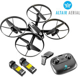 Altair Falcon AHP | Drone with Camera for Beginners | Free Priority Shipping | Live Video 720p, 2 Batteries & Autonomous Hover & Positioning System Easy to Fly, FPV (Lincoln, NE Company) - Go