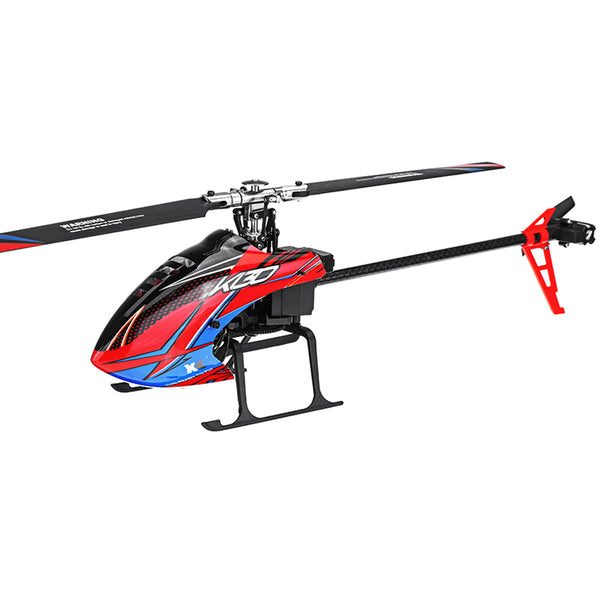 XK K130 2.4G 6CH Brushless 3D6G System Flybarless RC Helicopter BNF Compatible with FUTABA' S-FHSS - Go High Drone