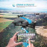 EACHINE E520S GPS Drone with 4K Camera for Adults,5G WiFi FPV Live Video Foldable Drone GPS Return Home 1200Mah 16mins Flight Time Follow Me RC Drone Quadcopter for Beginners - Go High Drone