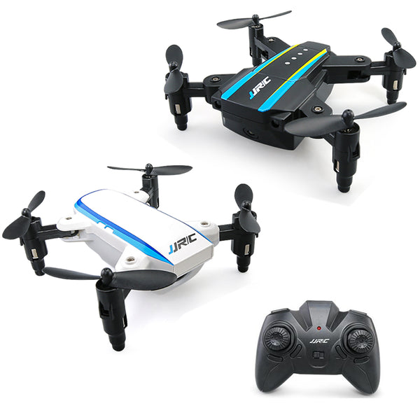 JJRC H345 Mini 2.4G 4CH 6 Axis Headless Mode Foldable Arm Double RC Drone Quadcopter RTF - Go High Drone