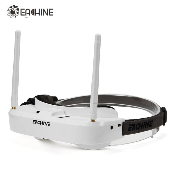 In Stock Eachine EV100 720*540 5.8G 72CH FPV Goggles With Dual Antennas Fan 7.4V 1000mAh Battery FPV Drone VS Fatshark Aomway - Go High Drone