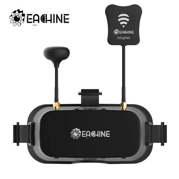 Hot Eachine EV800DM Varifocal 5.8G 40CH Diversity FPV Goggles with HD DVR 3 Inch 900x600 Video Headset RC Camera Drones Part - Go High Drone