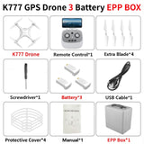 RC Quadcopter K777 Drone 4K GPS HD Two-Axis Gimbal Camera 5G WIFI Brushless Motor SD Card Dron Professional 30Mins Flight VS X35 - Go High Drone