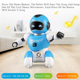 RC Soccer Robot Electric Dancing football Simulation Robots Programable Educational Intelligent remote control Robotic Kids Toys - Go High Drone