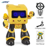 JJRC R17 Robot inteligente Music Dance RC Robot For Children Follow Gesture Sensor IR Robot Toys Robo Programmable Robot Kids (Yellow) - Go High Drone