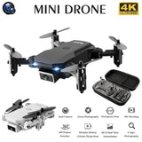 S66 Mini RC Drone 4K HD Camera Professional Aerial Photography Helicopter Gravity Induction Folding Quadcopter - Go High Drone