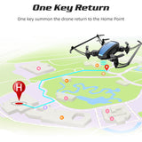 RC Foldable Mini Drone With Camera HD 480P FPV Mini Drones Toys For Kids nano quadcopter drone - Go High Drone