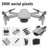 720p/1080P/4K E88 RC Quadcopter Folding Aerial Vehicle WIFI Portable Aerial Photography Real-time Image Transmission RC Drone - Go High Drone
