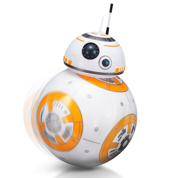 BB-8 2.4GHz Intelligent Early Education Toy Rc Robot Star Wars Upgrade Version Remote Control toy Music Model Children Toy Gift (No original box) - Go High Drone