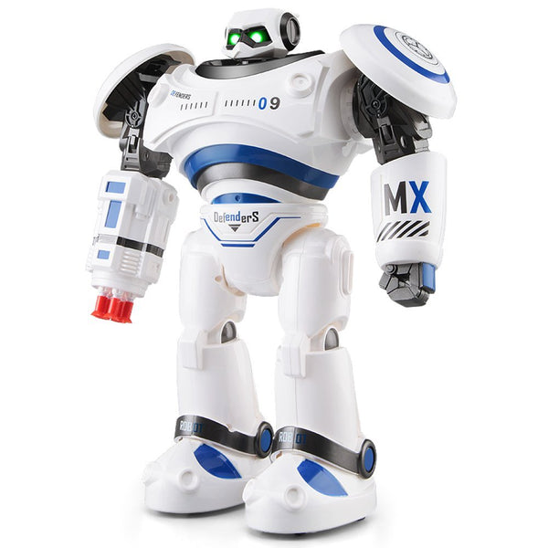 JJR/C JJRC R1 RC Robot AD Police Files Programmable Combat Defender Intelligent RC Robot Remote Control Toy for Kids - Go High Drone
