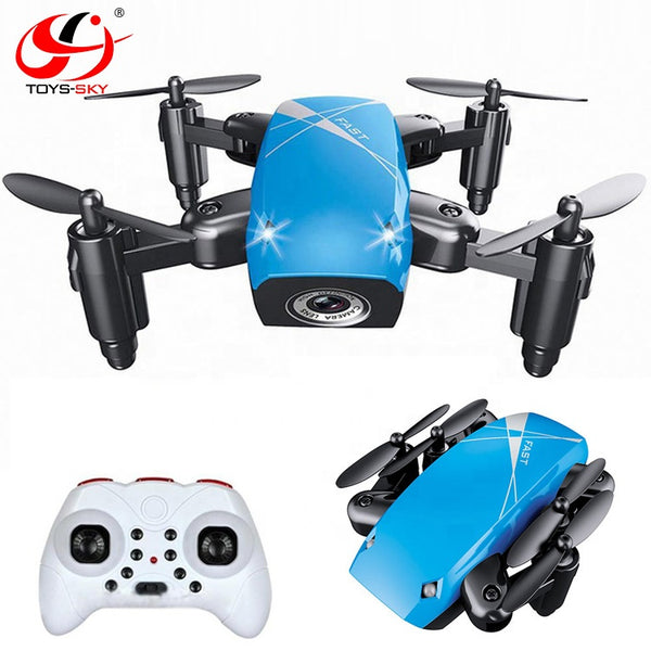 Only 3cm Pocket Drone 2.4G A key Return Mini Folded S9 Drone with Headless and Hovering - Go High Drone