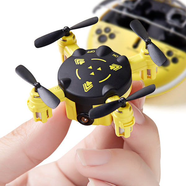 K5 Mini Drone 2.4G 4CH Headless Mode Pocket RC Quadcopter drone Kids Toys - Go High Drone