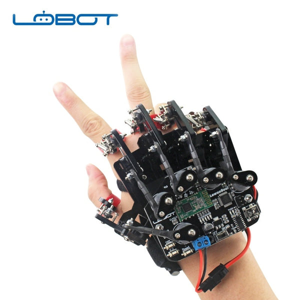 LOBOT Open Source Lead Motion ATmega328P Robot Glove For LOBOT uHand2.0 Robot Arm RC Car RC Robot Controlling Spare Part DIY - Go High Drone