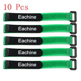 High Quality 10PCS Strong 26*2cm Eachine Lipo Battery Tie Cable Tie Down Strap Colors For RC Helicopter Quadcopter Model - Go High Drone
