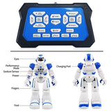 Size 26CM RC Remote Control Robot Smart Action Walk Sing Dance Action Figure Gesture Sensor Toys Gift for Children Kids Gifts - Go High Drone