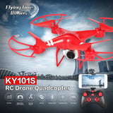 KY101S RC Drone With Camera HD Wifi FPV Altitude Hold One Key Return Landing Off Headless RC Quadcopter Drone Long Flight Time - Go High Drone