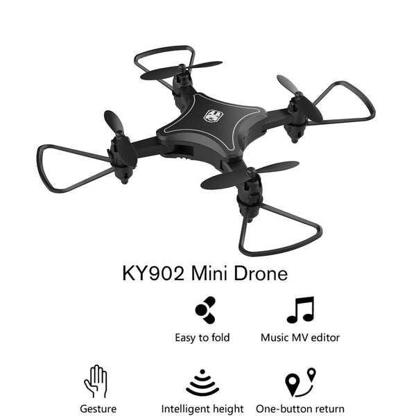 Mini Drone Quadcopter with 4K Camera HD Foldable Drones One-Key Return FPV Follow Me RC Helicopter Quadrocopter Toys - Go High Drone
