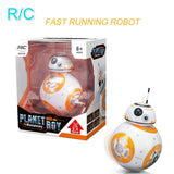 RC Robot Remote Control Action Figure Toy Ball intelligent Running Doll Kid Birthday Gift Fast Shipping - Go High Drone