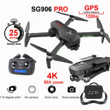 APEX SG906 PRO Video Dron Helicopter Toy Flight 25 Minutes 4K Camera Drone Professional Long Range 4K - Go High Drone