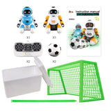 RC Robot Kawaii Cartoon Smart Play Soccer  Remote Control Electric Singing Dancing Football VS  Toys (Sets) - Go High Drone