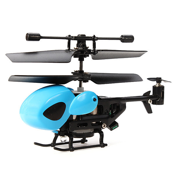 QS QS5013 2.5CH Mini Micro Remote Control RC Helicopter - Go High Drone