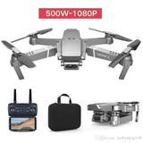 2020 New E68 WIFI FPV Mini Drone With Wide Angle HD 4K 1080P Camera Hight Hold Mode RC Foldable Quadcopter Dron Gift 5pcs DHL - Go High Drone