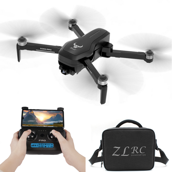ZLRC SG906 Pro 5G WIFI FPV With 4K HD Camera 2-Axis Gimbal Optical Flow Positioning Brushless RC Drone Quadcopter RTF - Go High Drone