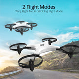 Holy Stone HS220 FPV RC Quadcopter Drone with Camera Live Video, WiFi APP Control, Altitude Hold, Headless Mode, One Key Take Off/Landing, 3D Flips, Foldable Arms,Wing and Folding Flight Mode
