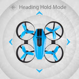 UDI U46 Mini Drone for Kids 2.4G 4CH RC Drones with Altitude Hold Headless Mode One Key Take off Landing Nano Quadcopter for Beginners Flying Training - Go High Drone