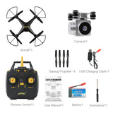 JJRC H68 Bellwether WiFi FPV with 2MP 720P HD Camera 20mins Flight Time RC Drone Quadcopter RTF - Go High Drone