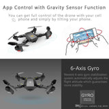 Drone With Camera Xs809 Xs809w Fpv Dron Rc Drone Rc Helicopter Remote Control Toy For Kids Gift VISUO Xs809hw Foldable Drone - Go High Drone