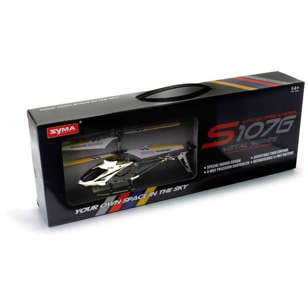 Syma S107G 3-Channel RC Helicopter with Gyro - Go High Drone