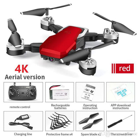 Drones With Camera 4k Aerial Four-axis RC Aircraft Resistant To Falling Remote Control Aircraft Toy 2 Million/5 Million Hd Camera Quadcopter - Go High Drone