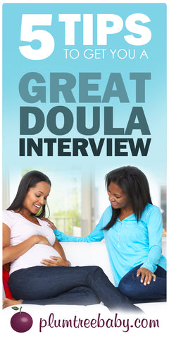 doula interview tips suggestions