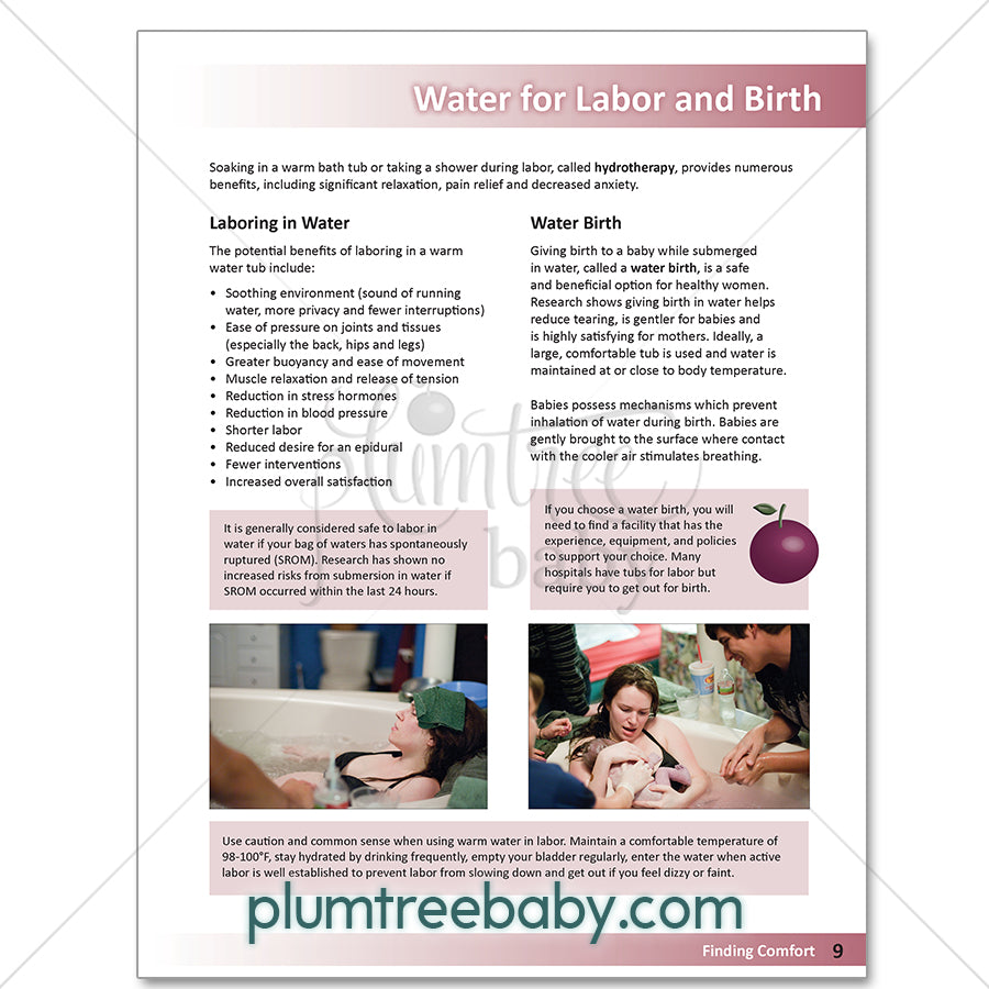Finding Comfort Booklet-Booklet-Plumtree Baby