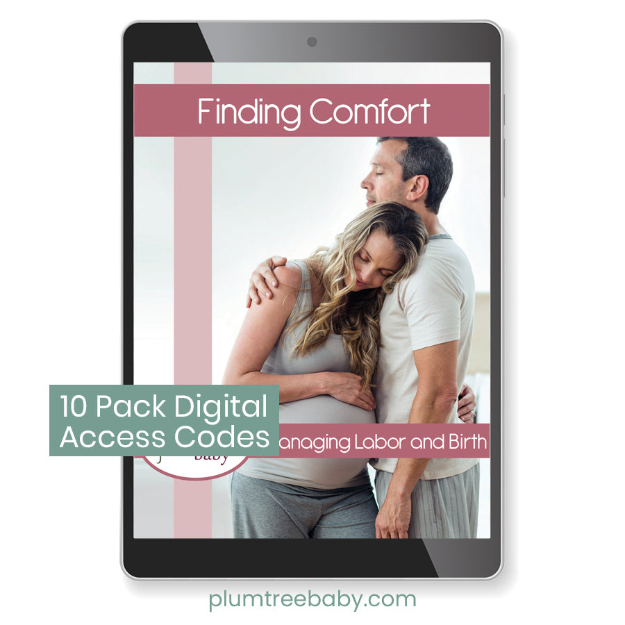 10 pack digital book access codes-Plumtree Baby