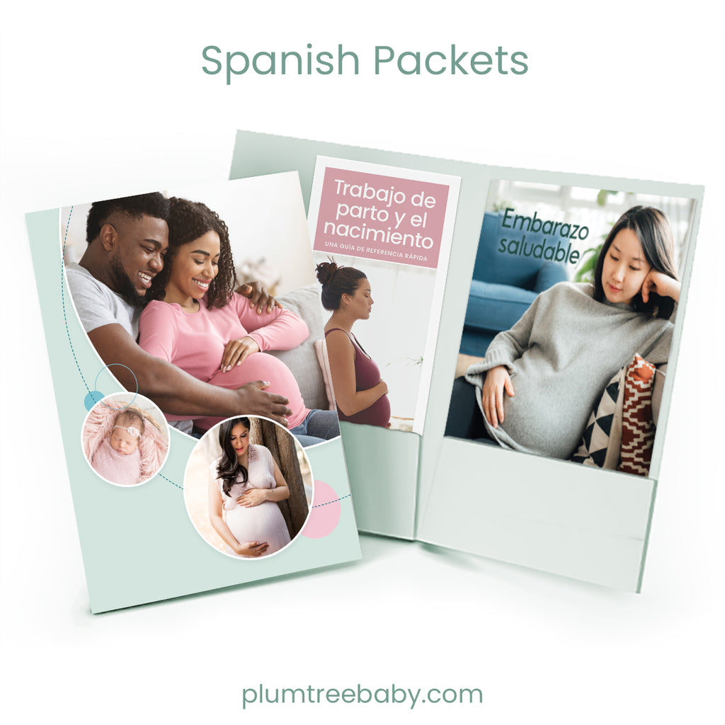 Prenatal Welcome Packets-Booklet-Plumtree Baby