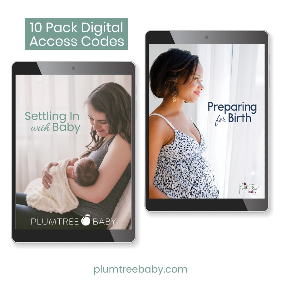 Set of 10 ebook access codes-Plumtree Baby