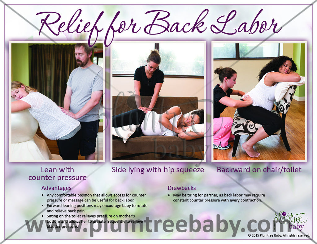 Labor Practice Cards - 2nd Edition-Teaching Aid-Plumtree Baby