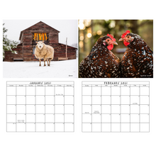 Load image into Gallery viewer, 2021 Sweet Olive Farm Animal Rescue Calendar